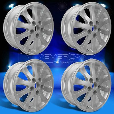 "2015 New 4PC Fit For TOYOTA CAMRY 2002-2011 +45 Offset 16"" x 6.5"" Car Alloy Wheels Rim Silver USA Stock Free Shipping(China (Mainland))"