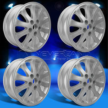 """2015 New 4PC Fit For TOYOTA CAMRY 2002-2011 +45 Offset 16"""" x 6.5"""" Car Alloy Wheels Rim Silver USA Stock Free Shipping (China (Mainland))"""