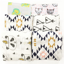 Muslin baby swaddle blanket  baby swaddle Cotton 100% Newborn Baby Bath Towel Swaddle Blankets Multi Designs Functions Baby Wrap(China (Mainland))