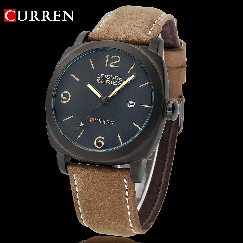 2015 New Hot Sell Curren 3atm Waterproof Quartz Business Men 39 S Watches Men 39 S Military Watches
