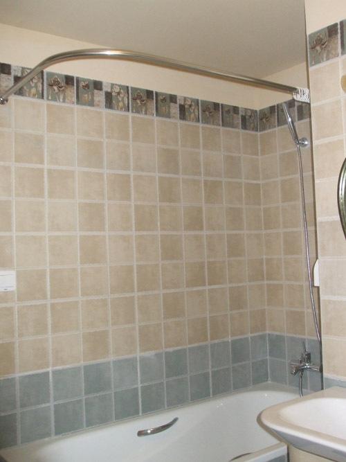 Quality stainless steel 304 stainless steel curved shower for Bastoni per tende vasca da bagno