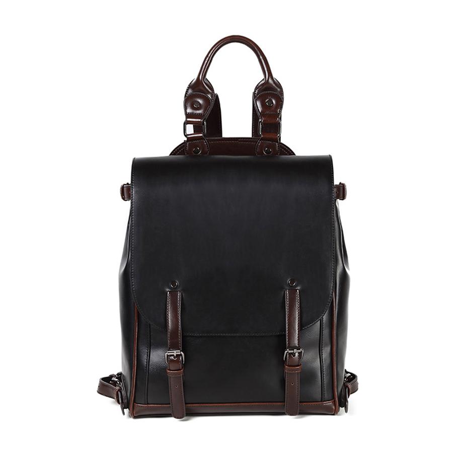 carzy horse man backpack brand leather men travel duffel bag business men shoulder bag large vintage Laptop bag sacoche homme<br><br>Aliexpress