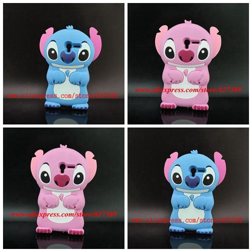 For Alcatel One Touch Pop 3 5.0 5015 5015D 5065 Best Selling Cartoon Stitch Silicone Mobile Phone Bags Cover Case(China (Mainland))