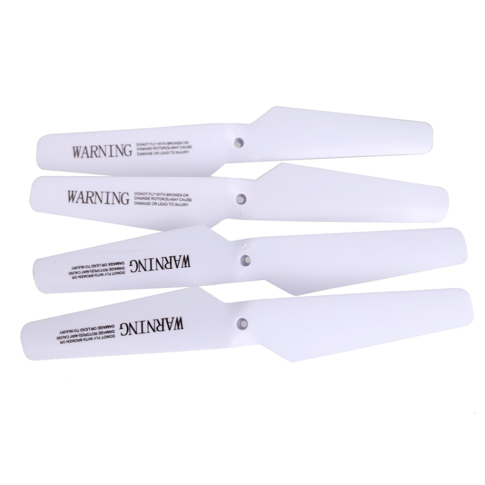 New Arrival 4pcs/set Propellers of RC Drone x5sw Spare Parts Drone Replacement Propellers For Syma X5 X5C X5SW