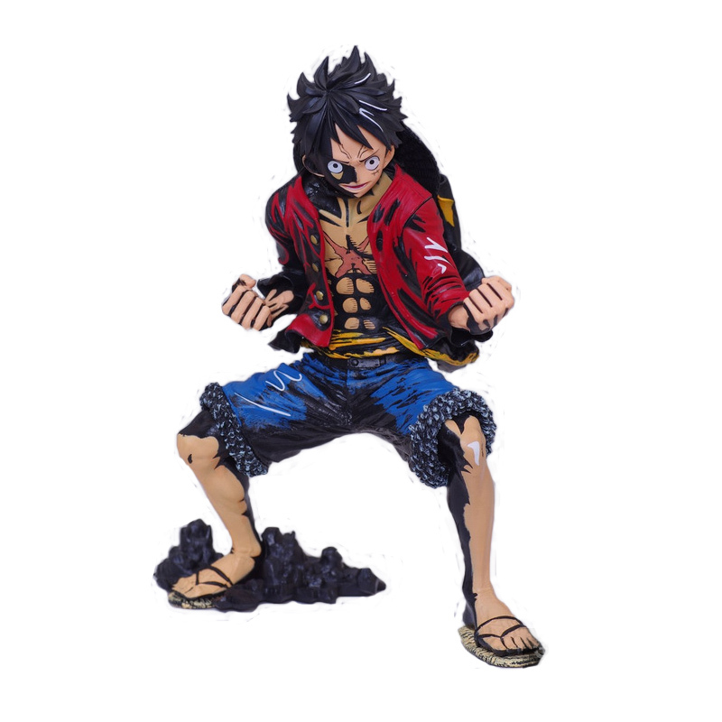 product 2015 New Anime Banpresto One Piece King of Art The Monkey D. Luffy Harmonia Color Version PVC Figure Collectible Model Toy