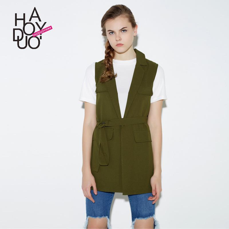 2016 Spring Army Green Sleeveless Vest Coat Women Handsome Jacket Coat M~XXLОдежда и ак�е��уары<br><br><br>Aliexpress