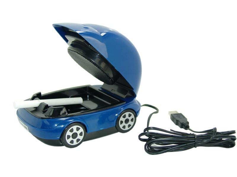 USB Smokeless Ashtray car ashtray USB Active Carbon Filter Smokeless Ashtray(China (Mainland))