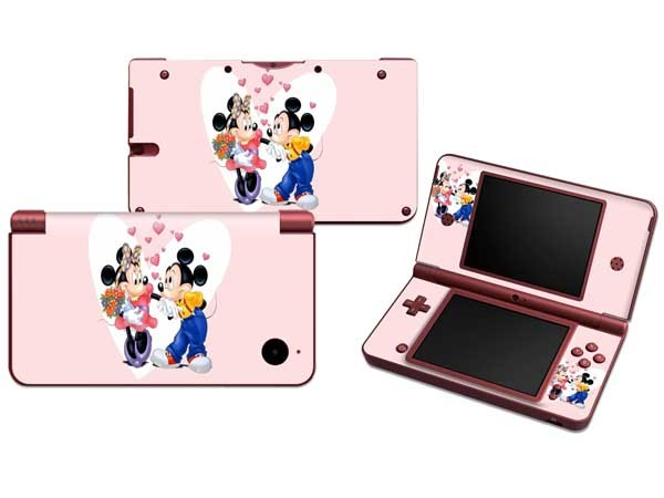 Vinyl Skin Sticker Protector for Nintendo DSI XL LL for NDSI XL LL Skins Stickers(China (Mainland))