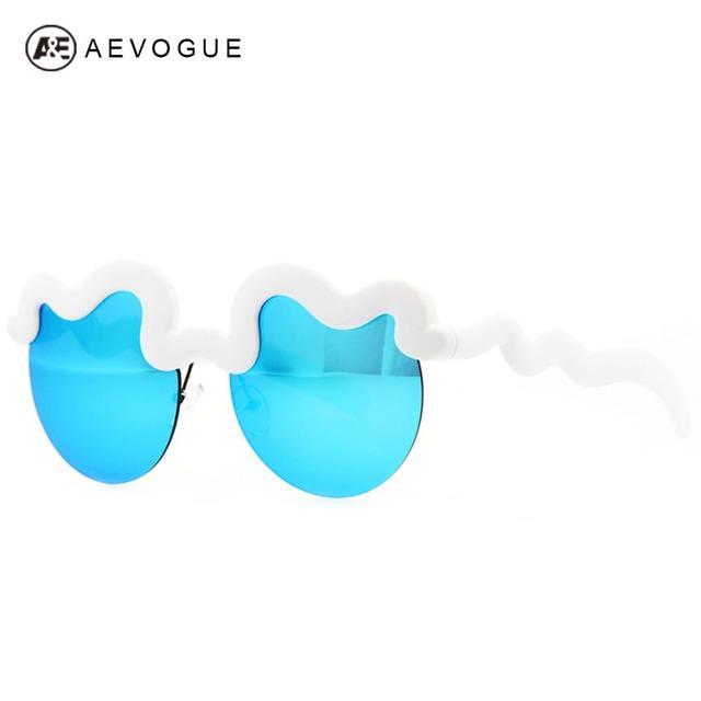 Aevogue дизайн облака рама солнечные очки женщины солнцезащитные очки óculos UV400 AE0155