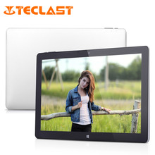 Teclast Tbook 12 Pro 12.2 inch Windows 10 + Android 5.1 Intel Cherry Trail X5 Z8300 64bit Quad Core 4GB/64GB HDMI Tablet PC(China (Mainland))