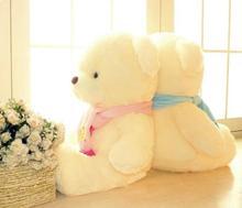 2014 Scarf Teddy Bear plush toy bear hug teddy bear couple wedding gifts 81123(China (Mainland))