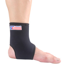 Ankle Brace Protection Elastic Wrap Pad Outdoor Sports Guard Support Ankle Pads(China (Mainland))