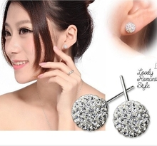 Brinco fine jewelry earrings orecchini oorbellen bijoux brincos de festa brincos crystal Polymer clay pendientes sapphire