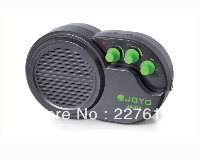 JOYOJA-02 Mini Practice instrument Guitar guitarra Clip Amplifier Headphone 3W Ukulele Amp Clean Distortion Effects freeshipping(China (Mainland))