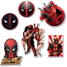 Buy Bevle Avenger Super Heroes Deadpool Waterproof Travel Suitcase Stickers Tide Fridge Skateboard Car Graffiti Fashion 3M Sticker for $3.05 in AliExpress store