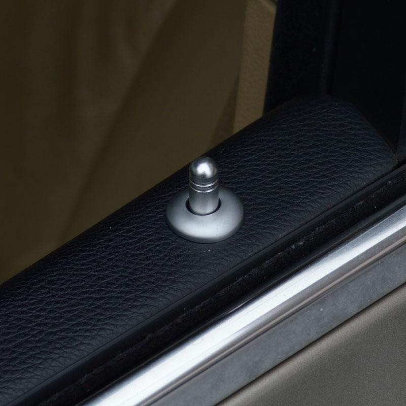 Car Door Lift Lid Trim Strip Interior Accessories 4pcs Door Bolt Decoration Frame Sticker  For BMW 5 Series E60 2006-10  (7)