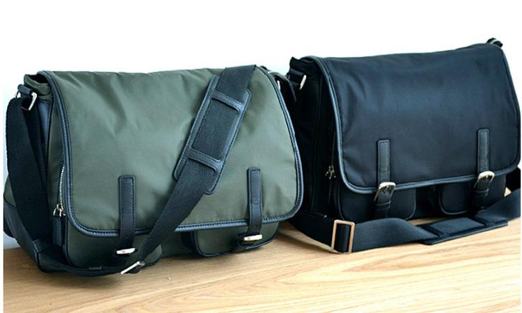 LAN Nylon men's messenger bag fashion single shoulder bag leisure men's bag