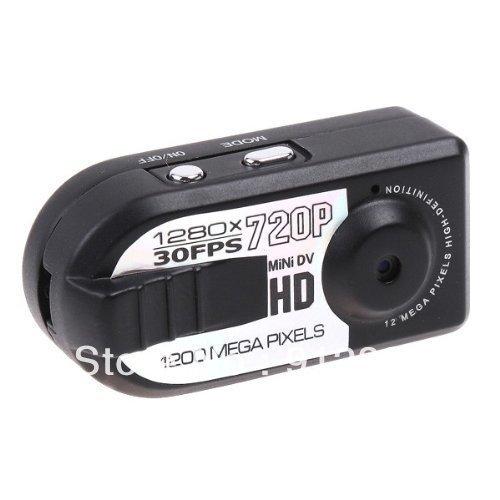 Original New thumb HD 720P Mini Pocket Thumb Size Camera DV 800 Mega Pixels Q5 1280 X 720 + Free Gift 8GB Card