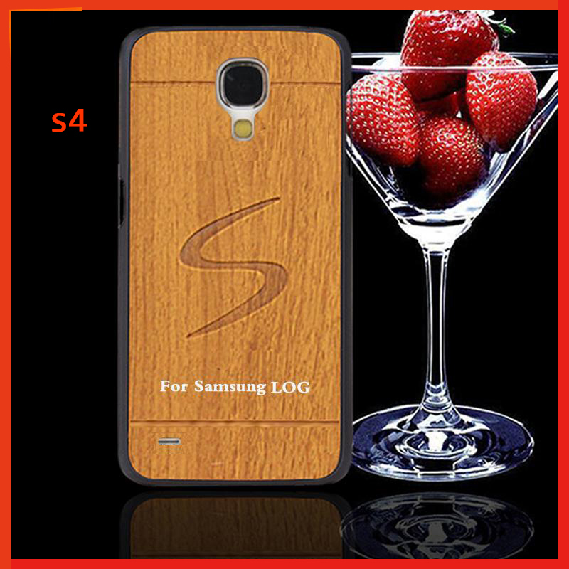 s 4 case cover for samsung galaxy s4 i9500 cases brand mobile phone Plastic hard case for samsung s4 vintage style wood cell(China (Mainland))