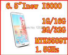 Free shipping Inew I6000 6.5 inch MTK6589T Quad Core android 4.2 1920x1080 IPS high resolution 2gb ram 32gb rom 13MP smart phone(China (Mainland))