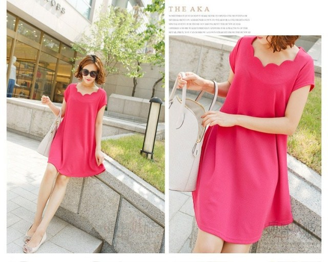 2015 New Fashion Pregnant Maternity Dresses Casual Pregnancy Clothes For Pregnant Women Clothing Gravida Chiffon Knee-length (China (Mainland))