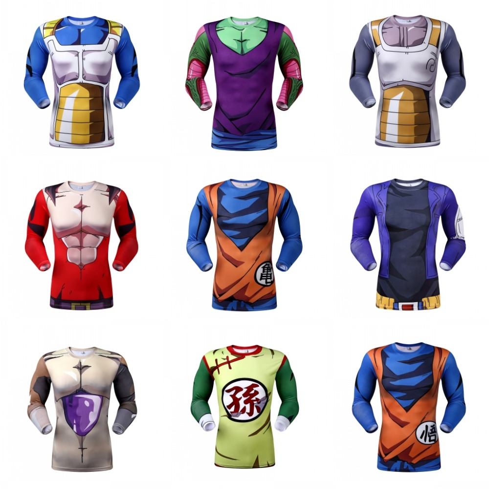 New Arrival Men's Fashion T shirt Dragon Ball Design Master Roshi Pattern sport top tees high quality t-shirt for men cosplay(China (Mainland))