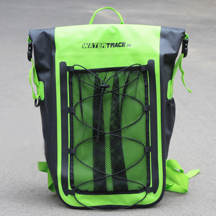 35L Waterproof backpack High Quality Durable Drifting Tpu Dry Bag For Hiking Rafting Surfing Cycling Roll top(China (Mainland))