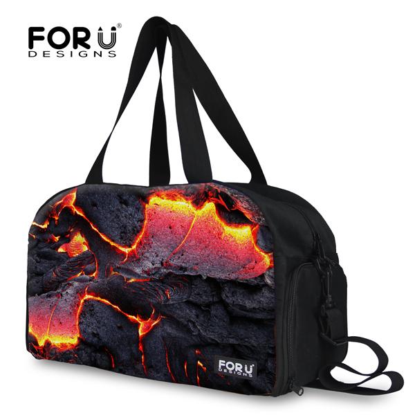 Hot Design Fire Gym Bags Men's Sport Bags 3D Galaxy Gym Bag For Sport Boy Brand Men's Outdoor Travel Soccer Bag Backpack Mochila(China (Mainland))