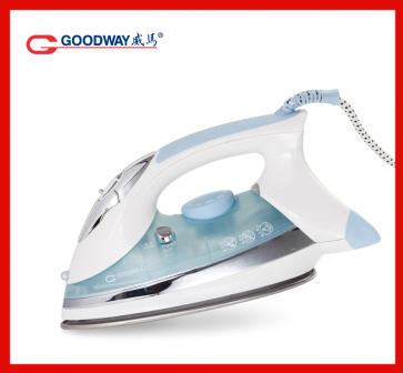 2016 новое прибытие Гонконг goodway с бытовой портативный электрический паровой утюг г-968STJ wathet синий