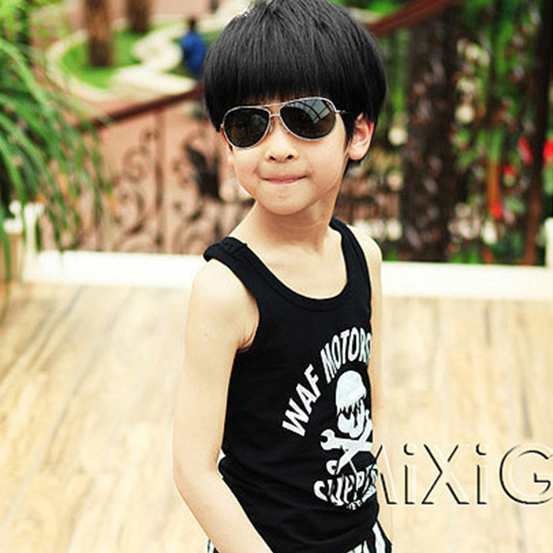 Fashion Children Wigs Boy Prince Hair Straight Baby Infant Wigs Pupils Korean Pupolar Hair Photography Pictures Wig Cool Stylish(China (Mainland))