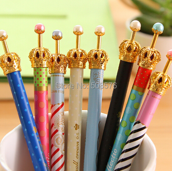 NEW creative elegant crown design Mechanical pencil 0.5mm HB pencil kids gifts school office writting supplies wholesales<br><br>Aliexpress