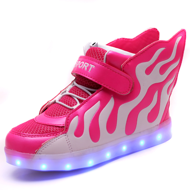 Hot 2016 Sale Fashion Sneaker Baby Boys/girls Led Shoes ...