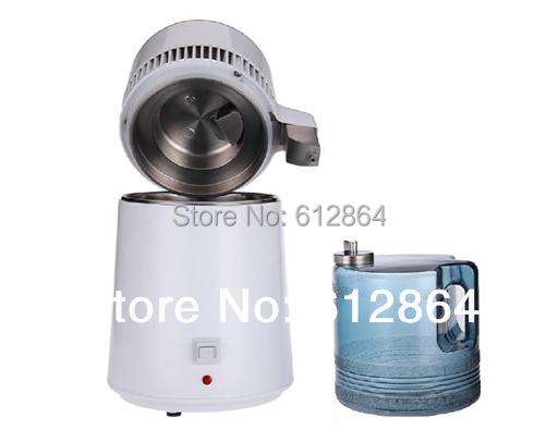 220V EU Plug Water distiller,home alcohol distillers,water Purifier,stainless steel,water filter,wholesaler Hot appliances(China (Mainland))