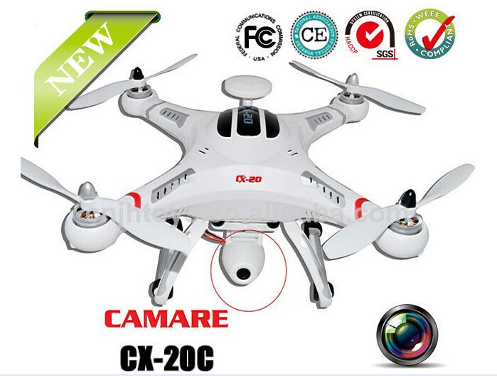 2014 Special Offer Cheerson CX-20C GPS Auto-Pathfinder FPV Rc Quadcopter With Camera RTF(China (Mainland))