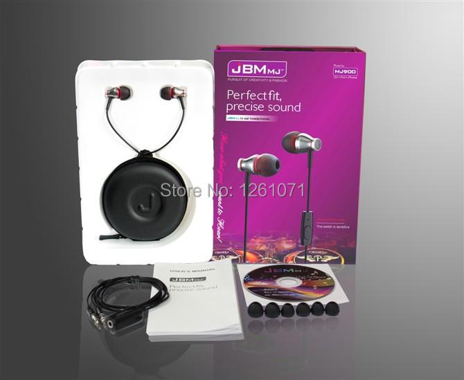 Наушники для мобильных телефонов JBM MJ900 /hd HiFi /talk iphone samsung iphone 4 18 900