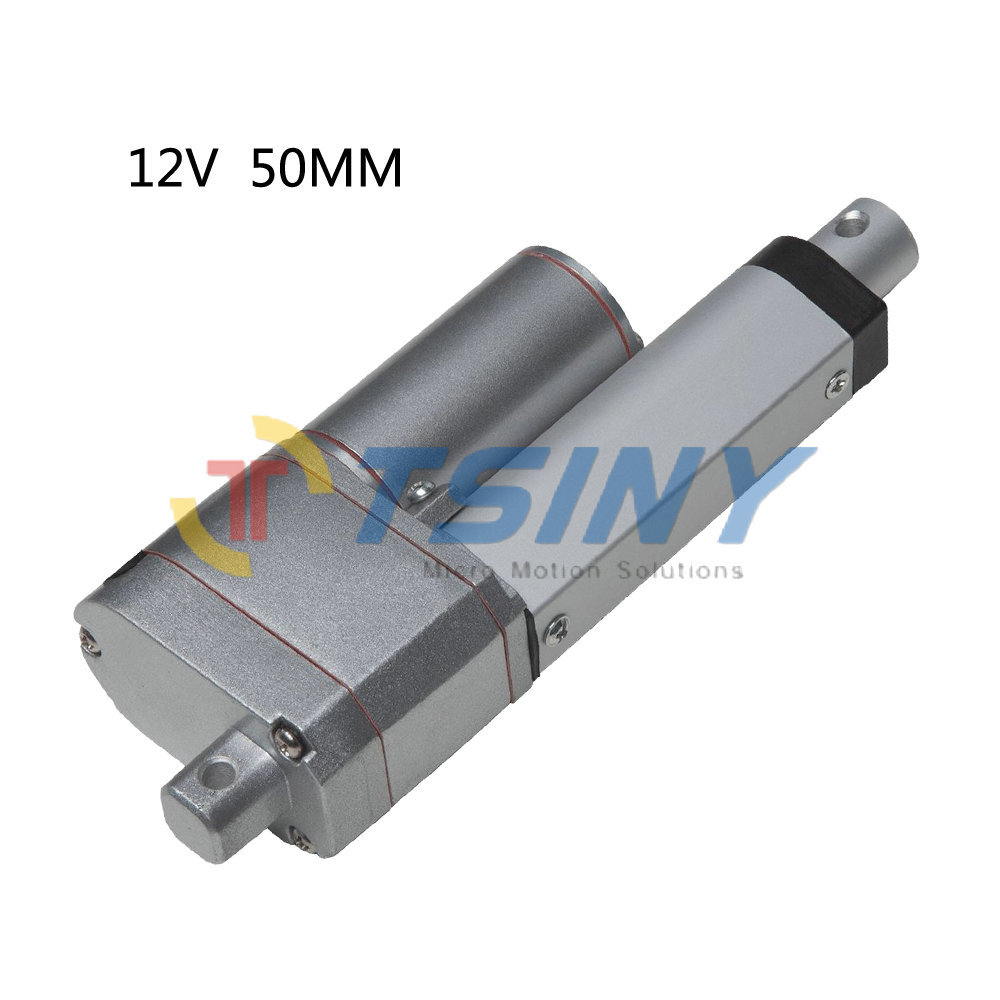 12v Dc Electric Linear Actuator Motor With Potentiometer