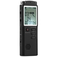 2 in 1 T60 Professional 8GB Time Display Recording Digital Voice / Audio Recorder Dictaphone MP3 Player Grabadora De Voz(China (Mainland))