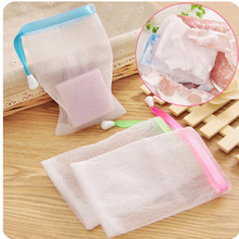 5p Kitchen bathroom Japanese soap wash foaming bath Cleansing Cream frothing net can be hung soap foam bags(China (Mainland))