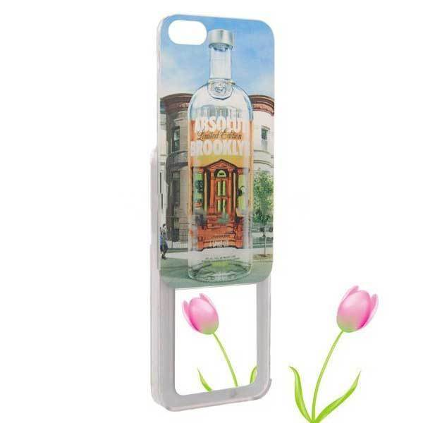 BulkPrice Cheap Unique Bottle Pattern Mirror Plastic Case Cover Skin For iPhone 5(China (Mainland))
