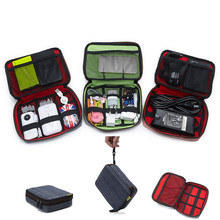 Feitong Travel Organizer Storage Collection Bag Case Pouch Digital Gadget Cable(China (Mainland))