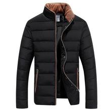 Musim dingin Jaket Pria Terbatas Hot Sale Pendek 2016 Musim Dingin Pakaian Kerah pria Menumbuhkan moralitas