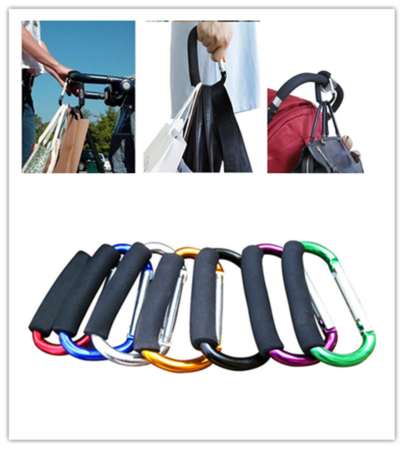 1pcs Baby Stroller Hook Stroller shopping hook Accessories Pram Hooks Hanger for Baby Car Carriage Buggy(China (Mainland))