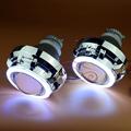 Car Styling Automobiles Full Metal 3 0 inches Q5 Kioto COB LED Angel Eyes Bixenon Lens