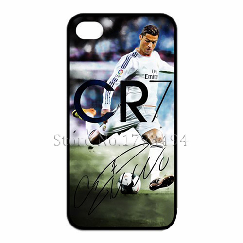 Cristiano Ronaldo CR7 Football Sport Cover Case for iPhone 4 4S 5 5S 5C 6 Plus Touch 5 Case(China (Mainland))