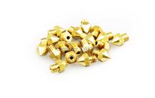 Freeshipping 10PCS Lot Reprap Prusa i3 3D Printer 0 3mm Extruder Brass Nozzle Print Head for