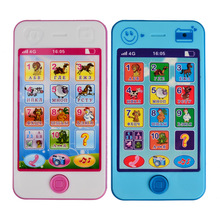 Arpa Free shipping Kids Russian Baby Language ABC Alphabet Music Math ,Early Learning & Education Machines Mobile Phone Toy(China (Mainland))