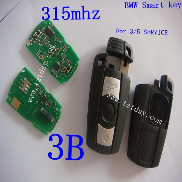 TD-BW023 Remote smart key 315mhz 7941/7936 /7944 Remote Key 3 Button for BM 3/5 Series X1 X6 Z4 315MHZ With ID7944 Chip(China (Mainland))