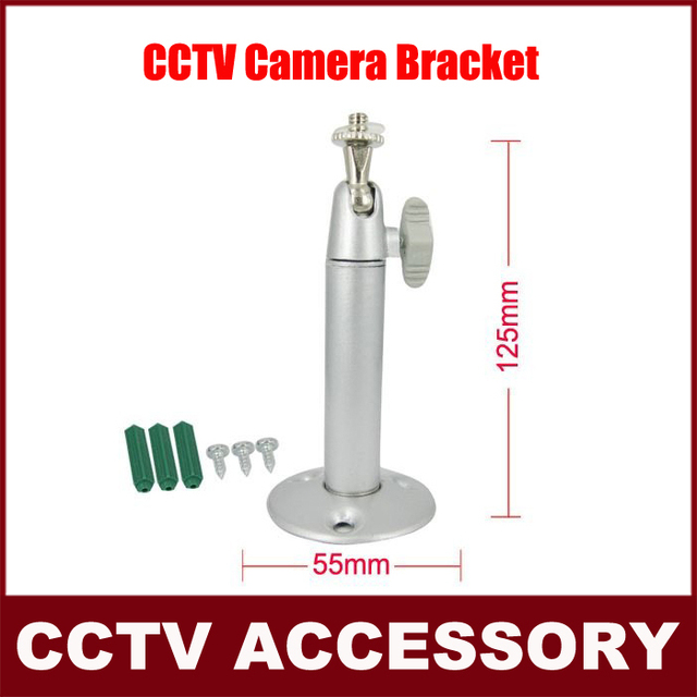 Widely Used Aluminum Wall Mount Bracket for CCTV Cameras,CCTV Camera Bracket ,4pcs/lot .Free Shipping