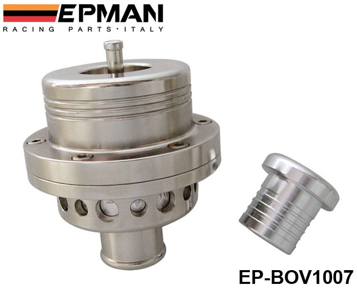 EPMAN 25MM Dual Piston BOV Blow off Turbo for Audi A4 S4 Golf Jetta 25 PSI EP-BOV1007 Silver(China (Mainland))