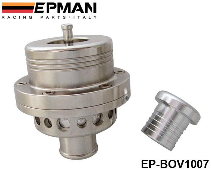 EPMAN 25MM Dual Piston BOV Blow off Turbo for Audi A4 S4 Golf Jetta 25 PSI EP-BOV1007 Silver(China (Mainland))